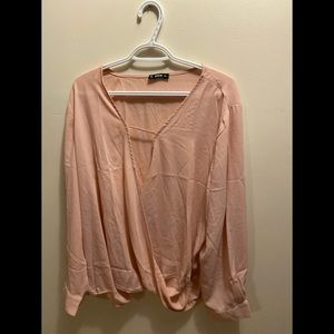Shien Pink Blouse